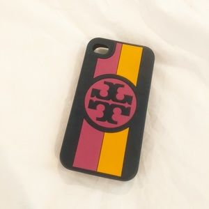 Tory Burch iPhone 4/4s Cover Navy Pink